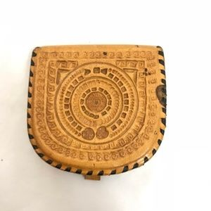 Vintage Coin Purse Hand Tooled